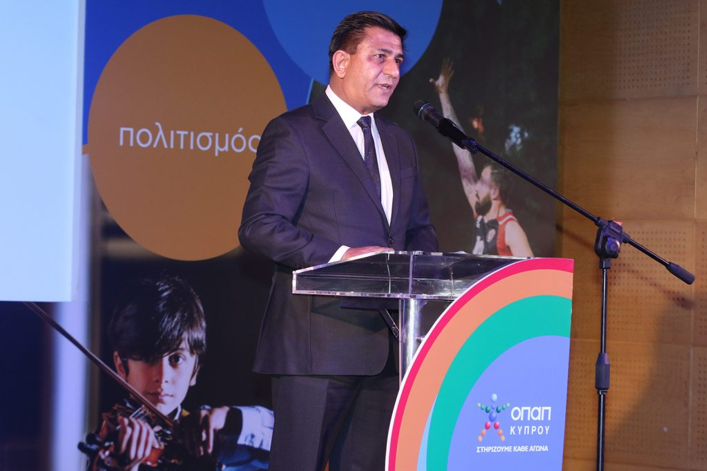 ο Διευθύνων Σύμβουλος της ΟΠΑΠ Κύπρου, Δημήτρης Αλετράρης