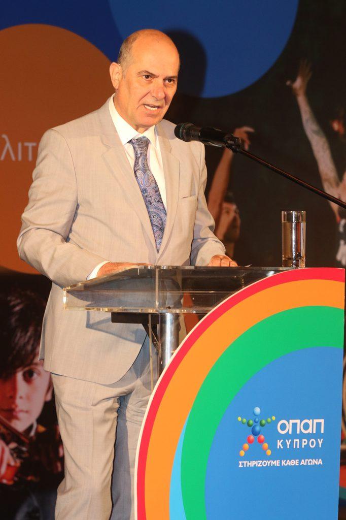 Αντιπρόεδρος του Ομίλου ΟΠΑΠ, Σπύρος Φωκάς
