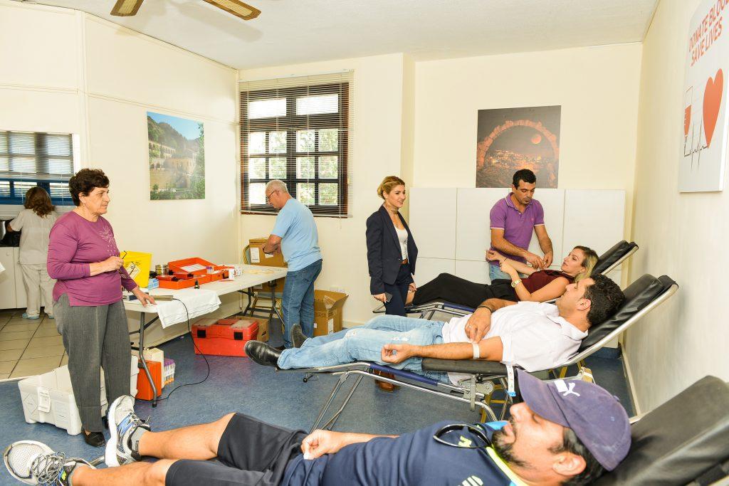Από τις εκδηλώσεις στο Kamares Emergency Medical Centre IASIS